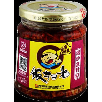 饭扫光爆炒金针菇 280g