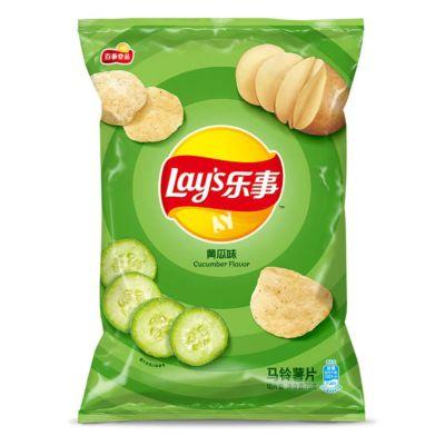 乐事马铃薯片黄瓜味70g