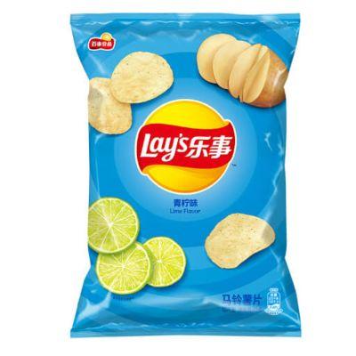 乐事马铃薯片青柠味 70g