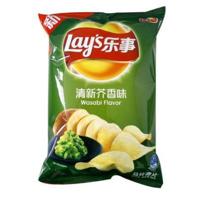 乐事马铃薯片清新芥香味 70g
