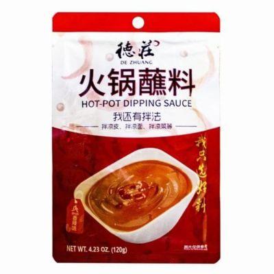 德庄火锅蘸料 香辣 120g