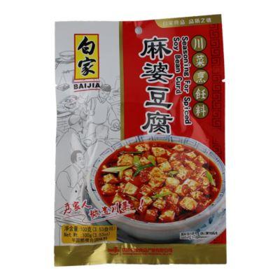 白家调味料--麻婆豆腐
