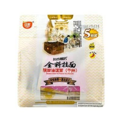 川香厨房陕西油泼面五包装 (宽面) 725g