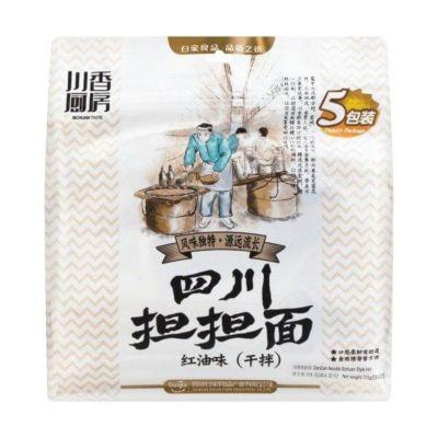 白家川香厨房干拌面 四川担担面红油味 725g