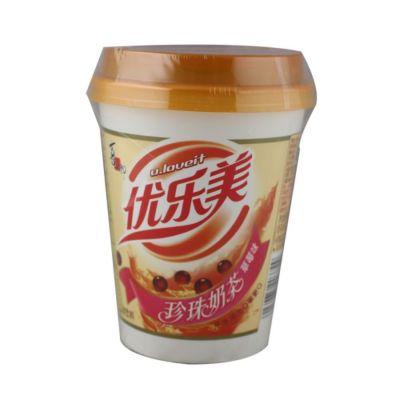 喜之郎优乐美珍珠奶茶-草莓