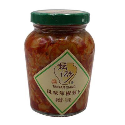 坛坛乡 风味辣椒萝卜 210g