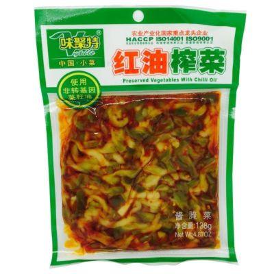 味聚特红油榨菜