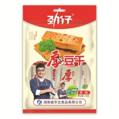 劲仔厚豆干 香辣 108g