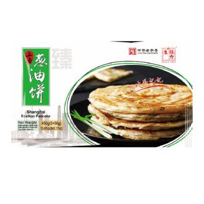 张力生 老上海葱油饼 5x90g