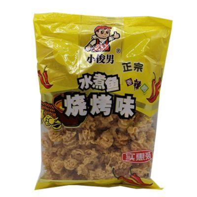 小俊男 香辣脆 水煮鱼烧烤味 150g