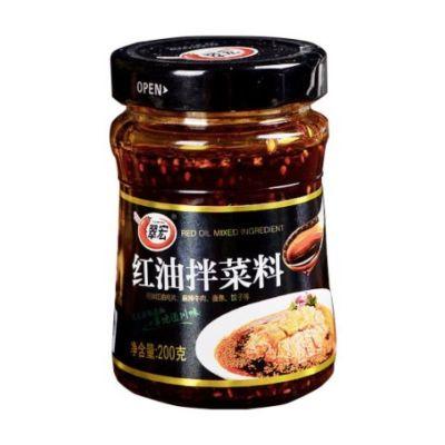 翠宏红油拌菜料 200g