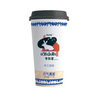奶白兔 牛乳茶 - 元气黑茶 117g