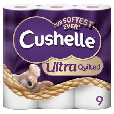 Cushelle 特级柔软厕纸(9卷/3层)