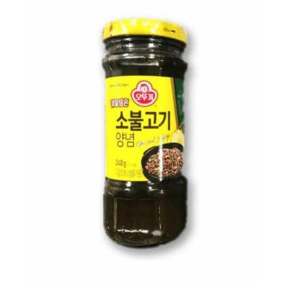 不倒翁 韩式烤牛肉酱 240g