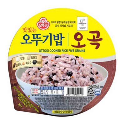 不倒翁 微波五谷米饭 - 单包 210g