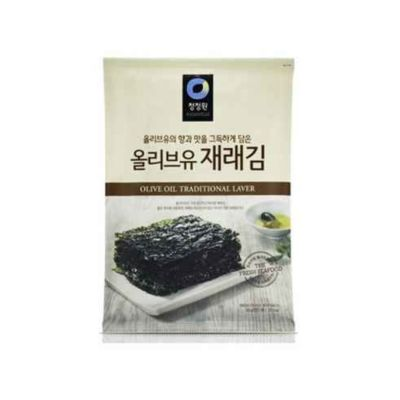 Chungjungone 橄榄油紫菜 20g