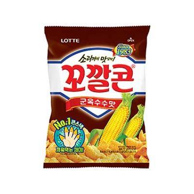 Lotte 烤玉米筒 72g