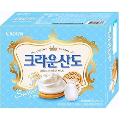 Crown 奶油夹心饼 161g