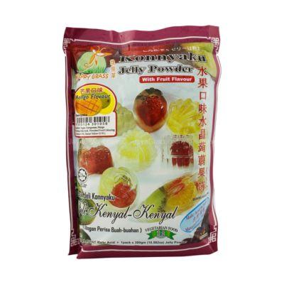 快乐草 水晶蒟蒻果冻粉 - 芒果口味 150g