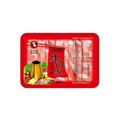 功夫火锅牛肉(肥牛)卷 800g