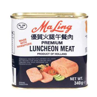 梅林优质火腿午餐肉