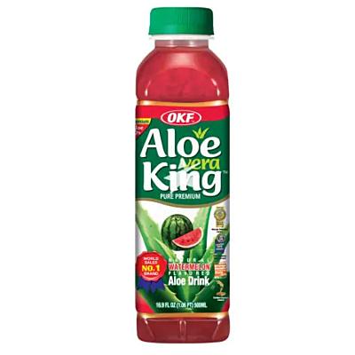 OKF 蘆薈飲品 500ml - 西瓜味
