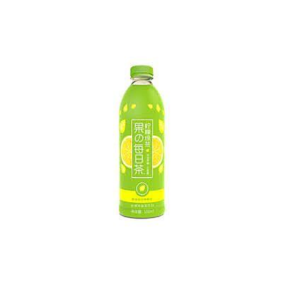 元气森林牌 柠檬味绿茶 500ml