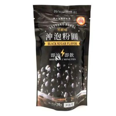 五福圆冲泡粉圆 - 黑糖味 210g