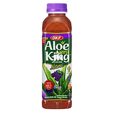 OKF 蘆薈飲品 500ml - 提子味