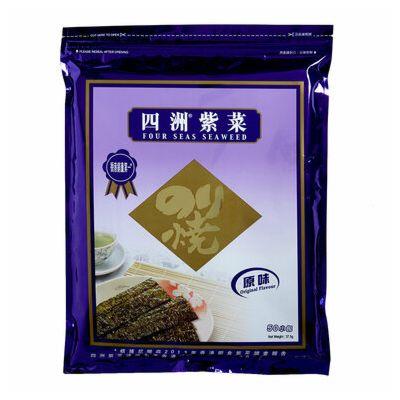 四洲紫菜原味 50包