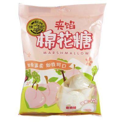徐福记夹馅棉花糖-蜜桃