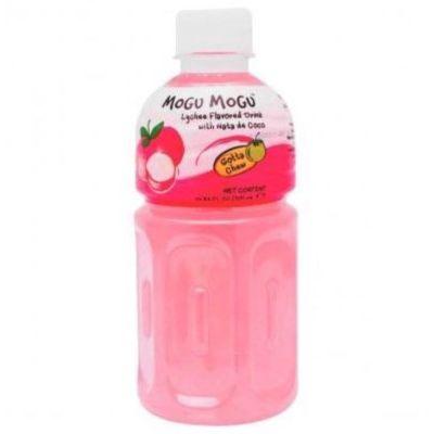 Mogu Mogu 椰果饮料 - 荔枝 320g