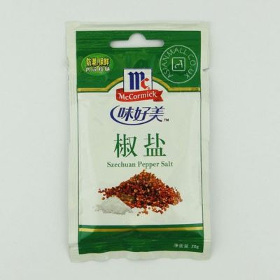 味好美袋装花椒盐