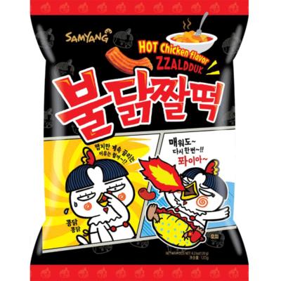 Samyang 辣鸡年糕小食120g