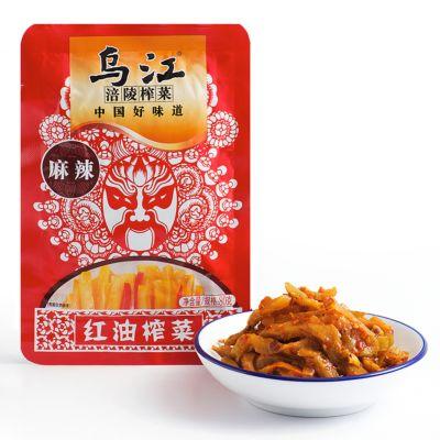 乌江红油榨菜麻辣味 80g