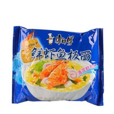 康师傅经典单包(鲜虾鱼板)95g