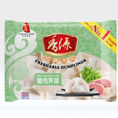 香源猪肉荠菜水饺 400g